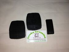 Land Rover Discovery 2 Pedal Rubber Set 3 Piece 11H1781L & 575818