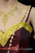 THAI TRADITIONAL BREAST CHAIN (T5) COSTUME THEATER WEDDING FESTIVAL DRESS JW218