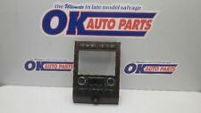 07-11 FORD EXPEDITION AUTOMATIC TEMP AC HEAT CLIMATE CONTROL ASSEMBLY