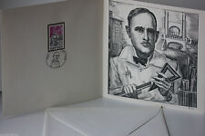 DOCUMENT PREMIER JOUR - 17 x 17 - TONY GARNIER - 1973 - N° 103