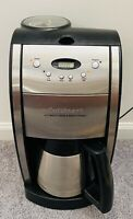 WORKING Cuisinart DGB-600BC Grind and Brew Thermal 10 Cup Automatic Coffee Maker