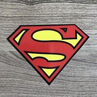 """Superman 4"""" Wide Vinyl Sticker - BOGO"""