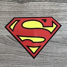 "Superman 4"" Wide Vinyl Sticker - BOGO"