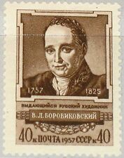 Russia Soviet Union 1957 2035 2025 V L borovikovsky Painter Painting Art Art MNH