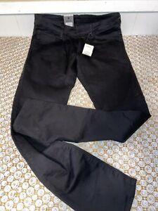 G-Star RAW Men's Black Deconstructed Jeans , Super Slim 32x32 Brand Nwt