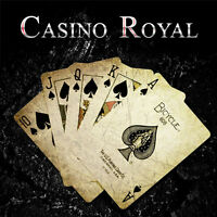 Magician's Close-Up Casino Royal Flush Street Real Stage Magic Trick