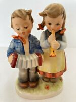 Vtg M.I. Hummel Birthday Serenade Figurine Goebel W Germany 218 2/0 1965 Signed