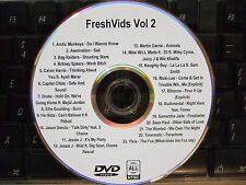 FreshVids VOL 2 MUSIC VIDEO DVD DRAKE BRITNEY SPEARS RIHANNA MILEY CYRUS YLVIS