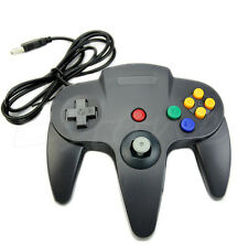 Retrolink Wired Classic Nintendo 64 N64 USB Controller for PC MAC Computer Black