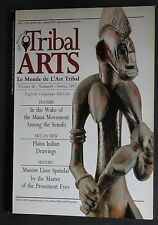 """TRIBAL ARTS"" MAGAZINE ""OUT OF PRINT"" VOLUME 3 NR.4 SPRING 1997 MASSIM SPATULAS"