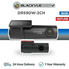 Blackvue DR590W-2CH 16GB Front and Rear Dash Cam Full HD Wi-Fi - Refurbished