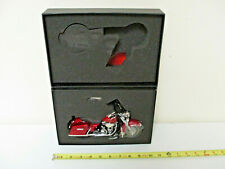 Harley-Davidson Red Hot Sunglo 2010 FLHR Road King By DCP 1/12th Scale