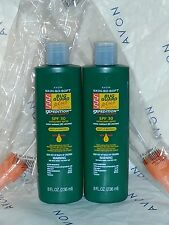 Avon 8 fl.oz. Skin So Soft SSS BUG GUARD repellent & sunscreen SPF 30 LOT of 2