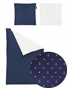 Irisette Mako-Satin Bettwäsche Jessica 8256-21 blau 100% Baumwolle