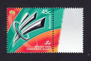 Australia Post - Design Set - Decimal - MNH - 2000 - Paralympic Games Sydney
