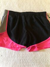 Velocity neon pink black Xl exercise shorts - Nwt Msrp $29. moisture control