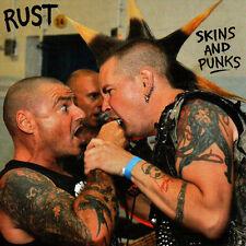 "RUST Skins And Punks new 7"" BLACK VINYL Aussie Oi! Punk Longshot Randale"