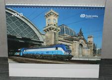 Wochenkalender 2020 ČD Ceske Drahy Stolní Kalendař NEU Tschechische Staatsbahn