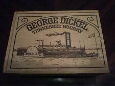 George Dickel Tennessee Whisky Steam Boat Wood Box