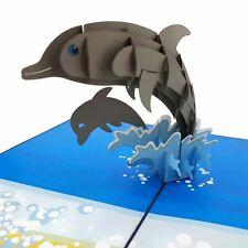 Dolphins 3d pop up card