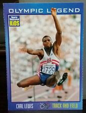 Carl Lewis card Olympic Legend Sports Illustrated for Kids