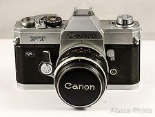 Canon: Canon FT QL  1966 1972 24x36 35mm avec Canon FL 50mm 1.8