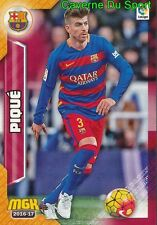 088 GERARD PIQUE ESPANA FC.BARCELONA MANCHESTER UNITED CARD MGK LIGA 2017 PANINI