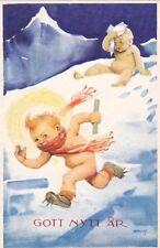 Gott Nytt År - New Year Greetings, AS: Artelius, Baby Stole A Paper, 10-20s