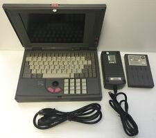 "HyperData 10"" Black & White Model 486 Series Notebook Size Computer - Tested"