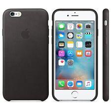 GENUINE APPLE Leather Case for iPhone 6 Plus 6s Plus - BLACK