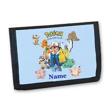 Pokemon Personalised Boys Kids Wallet
