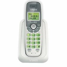 VTech CS6114 DECT 6.0 Cordless Phone with Caller ID/Call Waiting, White