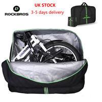RockBros Folding Bike Carrier Bag Carry Bag Easliy Carry Bag with Storage Bag