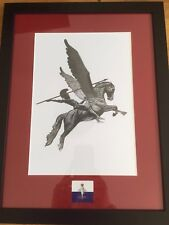 British Airborne Forces Pegasus And Bellerophon Frames Print