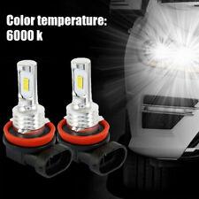 H16 H11 H9 H8 LED Headlight Bulb Bright 6000k white 7000LM CSP 100W Kit Low Beam