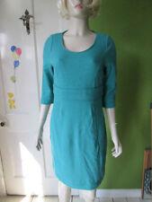 Boden Cotton Blend Round Neck 3/4 Sleeve Dresses for Women