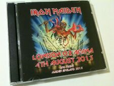 Iron Maiden Double CD London O2 Arena 2nd Night Maiden England Tour 2013