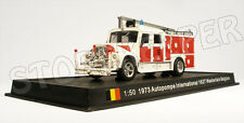 Fire Truck - Autopompe International 1627 - Belgium 1973 - 1/50 (No13)
