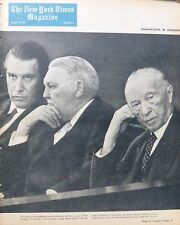 10-1963 October 13 GERMANY CHANGING - KENNEDY - ATOM  ALGERIA COMMUNISM NY Times