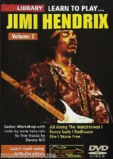 LICK LIBRARY Learn to Play Jimi Hendrix All Along The Watchtower Guitar DVD 2