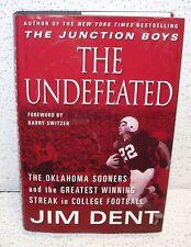 The Undefeated The Oklahoma Sooners & Greatest Winning Streak Hardback Book
