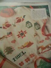 Christmas Designs Sampler Magazine Cross Stitch Pattern