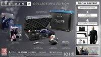 HITMAN 2 COLLECTORS EDITION - PLAYSTATION 4 PS4 - BRAND NEW - FREE UK POST!!!