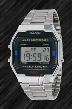 Casio Classic,Retro-Style,Stoppuhr,Beleuchtung,A163WA-1,Digital