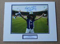 JOHN BAILEY Everton 1984 FA Cup HAND SIGNED Autograph Photo Mount Display + COA