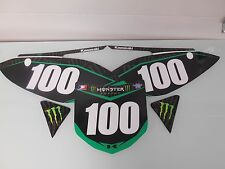 KX250F KX 250F KXF 250F 450F KX450F 450 2009 2010 11 SIDE PANEL NUMBER GRAPHICS