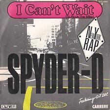 DISCO 45 Giri   SPYDER-D – I CAN'T WAIT