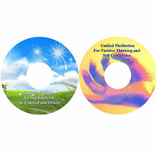 Guided Meditation Loving Kindness & Positive Thinking CDs Stress Relief Peace