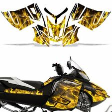 Rev XR Decal Graphic Kit Ski Doo Skidoo Sled Snowmobile Wrap Summit 13+ ICE YLLW