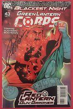 Green Lantern Corps (2006) 43 & 46 - Signed By Peter Tomasi - Comics - DC Comics